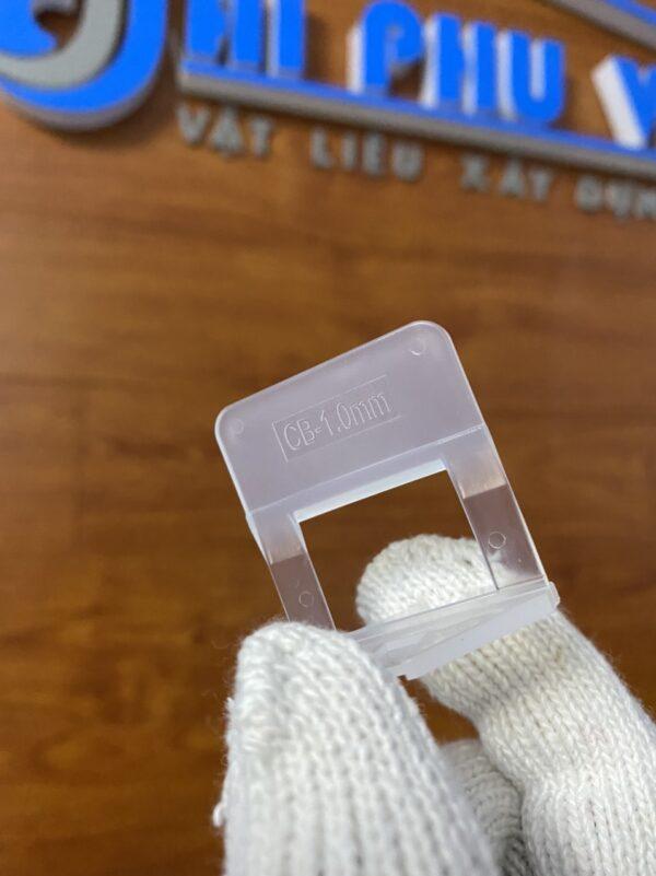 Ke nhựa cân bằng ốp lát gạch men loại 1mm - Minh Phú Group - Hotline 0971.379.789