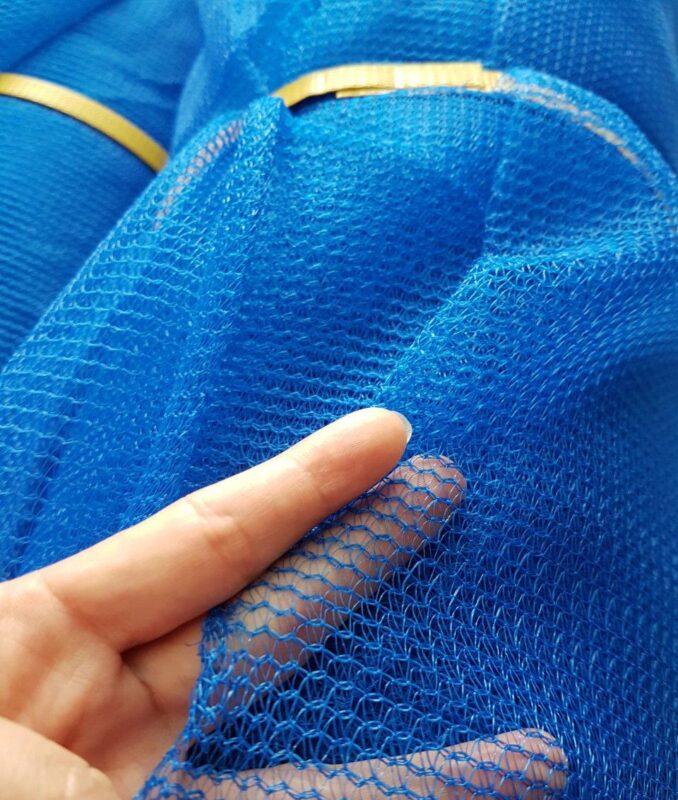 Lưới bao che xây dựng - Màu xanh dương Blue - Minh Phú Group - Mua hàng Lh 0971.379.789