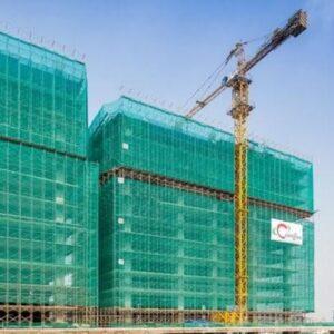 Lưới bao che công trình xây dựng khổ 2mx100m xanh lá - Green. Mua hàng LH 0971.379.789