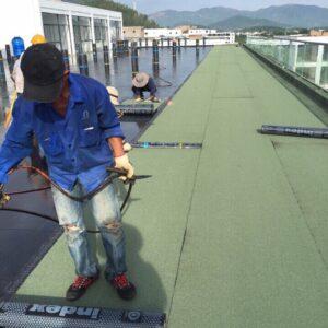 Màng chống thấm khò nóng Index 3mm đá xanh Italia - Minh Phú Group - Lh 0971379789