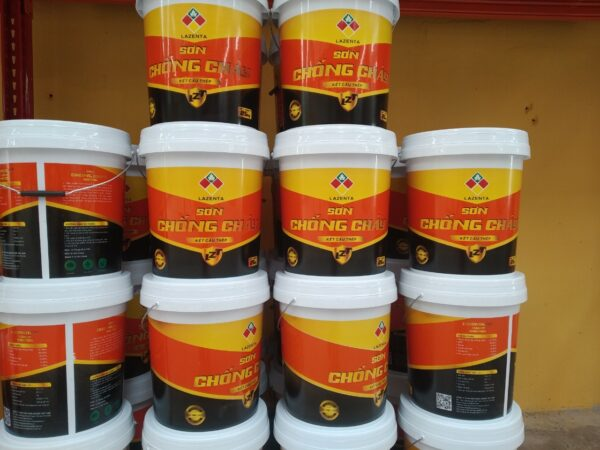 Sơn chống cháy Lazenta - Sơn chống cháy công nghiệp - Minh Phú Group - Hotline 0971.379.789