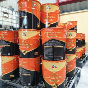 Sơn lót Epoxy Lazenta chống rỉ cho bề mặt kết cấu sắt thép - Minh Phú Group - Hotline 0971.379.789