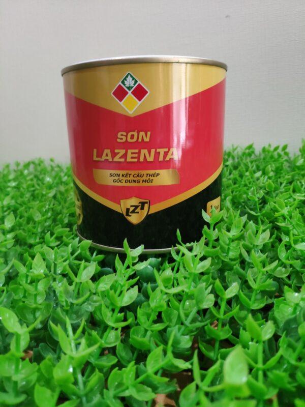 Sơn phủ Alkyd Lazenta trang trí bảo vệ cho bề mặt kết cấu sắt thép - Minh Phú Group - Hotline 0971.379.789